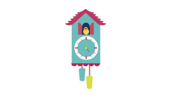 relojes de cuco para niños